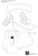 Blank Spaceship Papercraft