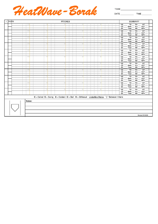 pitching chart template - top 5 baseball pitching charts free to download in pdf format