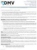 Form Dmv-21 - Application For Restricted License