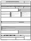 Dd Form 293 - Application For The Review Of Discharge