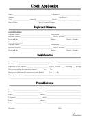 Credit Application - All Truck & Car