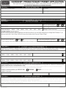 Form 735-6044 - Hardship / Probationary Permit Application