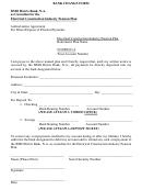 Pension Direct Deposit Bank Change Form