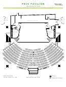 Peck Pavilion Orchestra Section Seating Chart