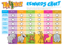 Star Rewards Chart For Kids