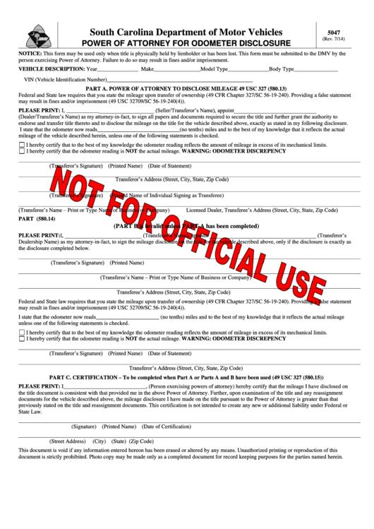 South Carolina Department Of Motor Vehicles - Scdmv