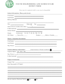 Youth Engineering And Science Fair Entry Form - Yes Fair