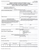 English Direct Deposit Enrollment Form - Us Embassy In Turkey