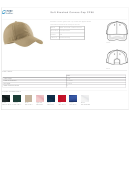 Soft Brushed Canvas Cap Size Chart
