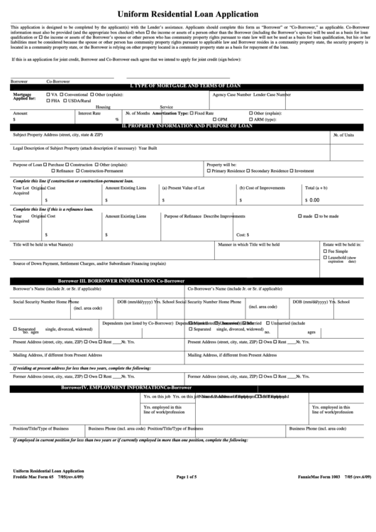 First-year Admissions Application