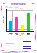 Bar Graph Toy Shop Worksheet Template