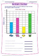 Bar Graph Toy Shop Worksheet Template