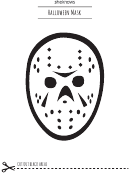 Halloween Mask Template
