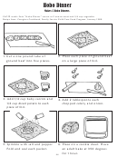 Hobo Dinner (kids Activity Sheet)