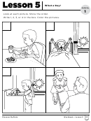 What A Day! Kids Worksheet