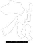 Paper Dinosaur Template
