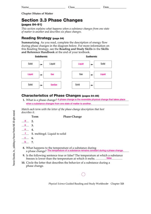 phase changes worksheets page 2 of 2 in pdf. Black Bedroom Furniture Sets. Home Design Ideas