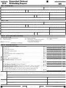 California Form 589 - Nonresident Reduced Withholding Request - 2016