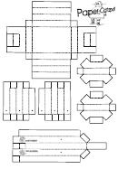 Catapult Paper Model