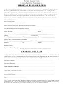 Medical Release Form General Release - Natick Soccer