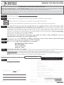 Form Mv-15 - Request For Dmv Records