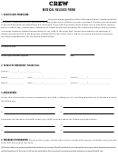 Medical Release Form - Life Action Camp