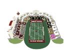 Txstate Bobcat Stadium 3d Seating Chart