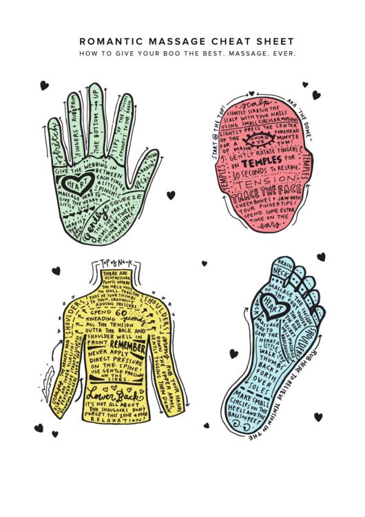 Romantic Massage Cheat Sheet