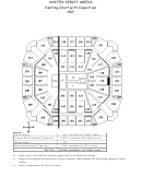 The United Spirit Arena Seating Chart