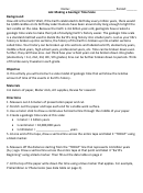 Geologic Time Scale Lab Template