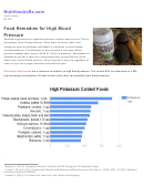 Food Remedies For High Blood Pressure - Nutrition As Rx