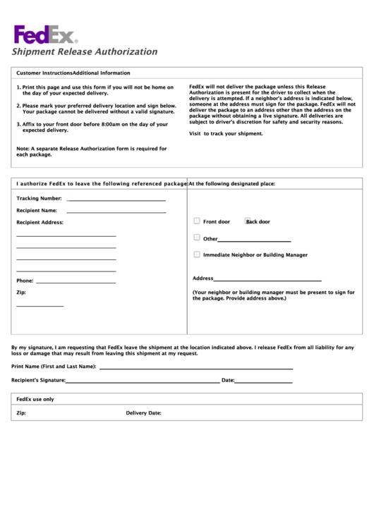 ups signature release form pdf