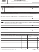 Form 8282 (rev. December 2005) - Donee Information Return (sale, Exchange, Or Other Disposition Of Donated Property)