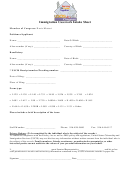 Immigration Casework Intake Sheet
