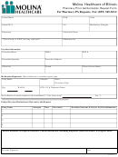Molina Healthcare Of Illinois Pharmacy Prior Authorization Request Form