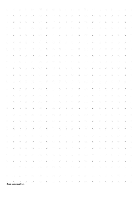 1 Cm Dotty Squared Paper Printable pdf
