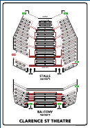 Booth Seating Plan - Clarence St Theatre