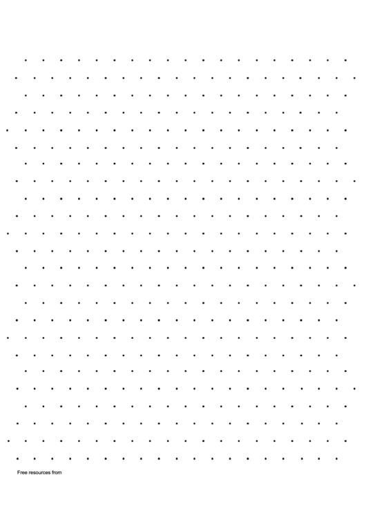 Triangular Dotty Paper Printable pdf