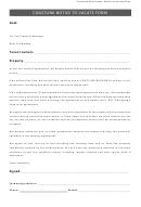 Coastlink Notice To Vacate Form - Coast Link Real Estate
