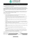 Hipaa Patient Consent Form - Unique Dermatology Wellness