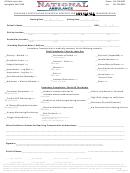 Medical Necessity Form For Ambulance - National Ambulance