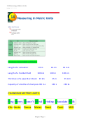 'measuring In Metric Units' Math Worksheet