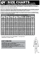 Gk Girl's/women's Leotards And Undergarments Size Chart