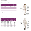 Nuclear Supplies Female And Male Apron Size Chart