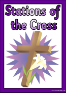 Stations Of The Cross Card Templates