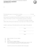 Subordination Agreement - California Department Of Business Oversight