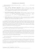 Subordination Agreement - Idaho Association Of Counties