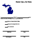 Parent Opt- Out Form - Stop Common Core In Michigan