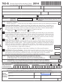 Form 763-s - Virginia Special Nonresident Claim For Individual Income Tax Withheld