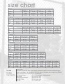 Size Chart - Soffe